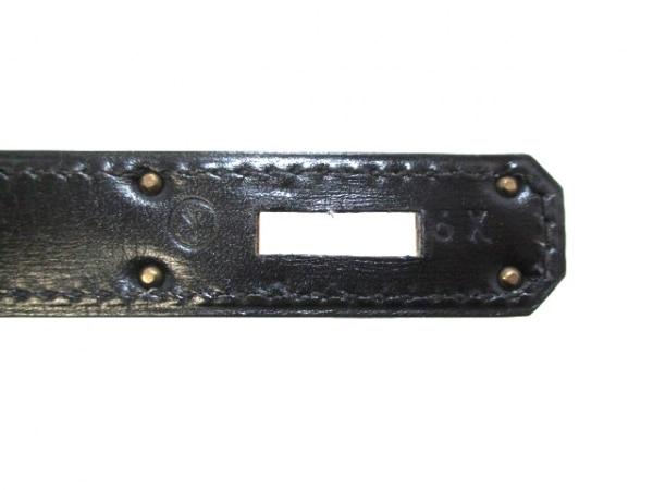 HERMES(エルメス) ハンドバッグ ケリー32 黒 外縫い/ゴールド金具 4