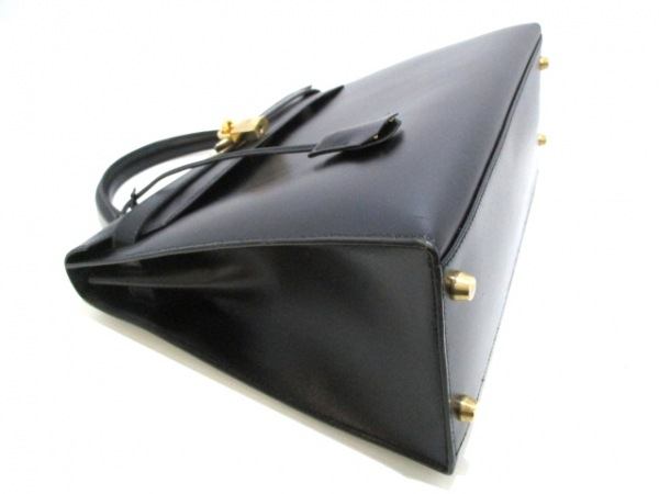 HERMES(エルメス) ハンドバッグ ケリー32 黒 外縫い/ゴールド金具 8