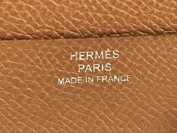 HERMES(エルメス) 札入れ - ゴールド ヴォーエプソン 5