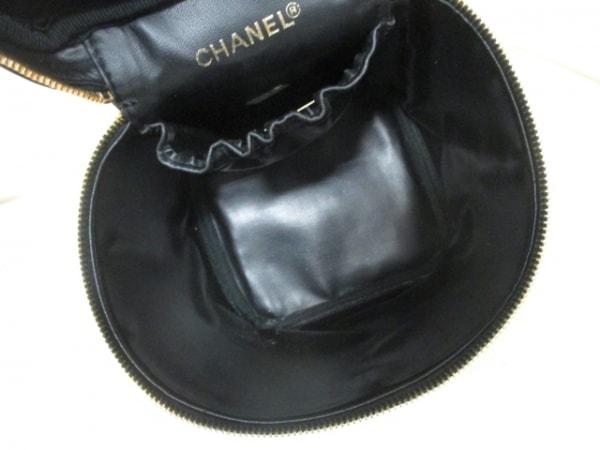 CHANEL(シャネル) バニティバッグ ビコローレ 黒 ラムスキン 5