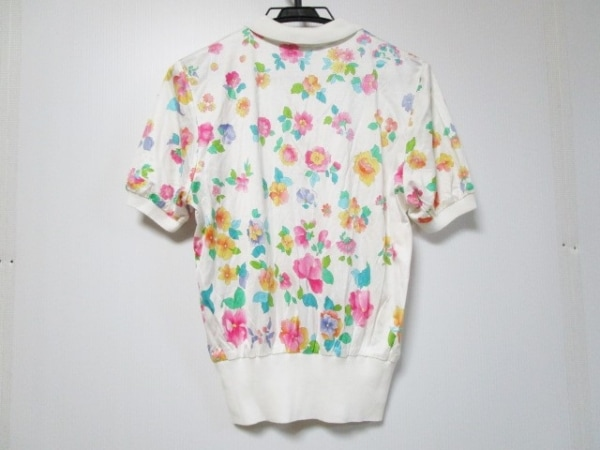 LEONARD(レオナール) 半袖ポロシャツ サイズM レディース美品  花柄 2