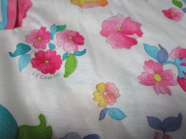 LEONARD(レオナール) 半袖ポロシャツ サイズM レディース美品  花柄 5