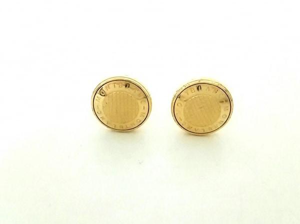 MONTBLANC(モンブラン) カフス美品  金属素材 ゴールド 0
