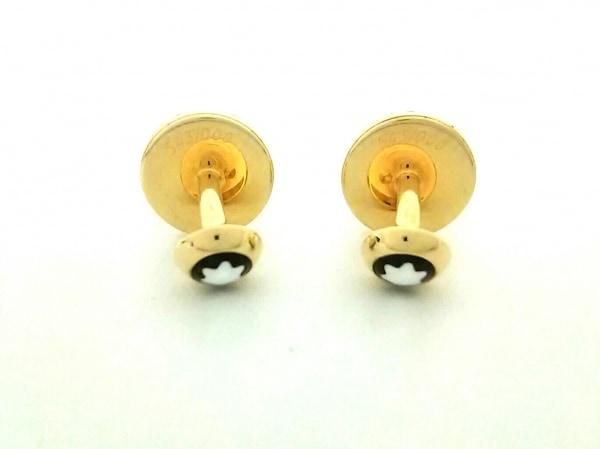 MONTBLANC(モンブラン) カフス美品  金属素材 ゴールド 2