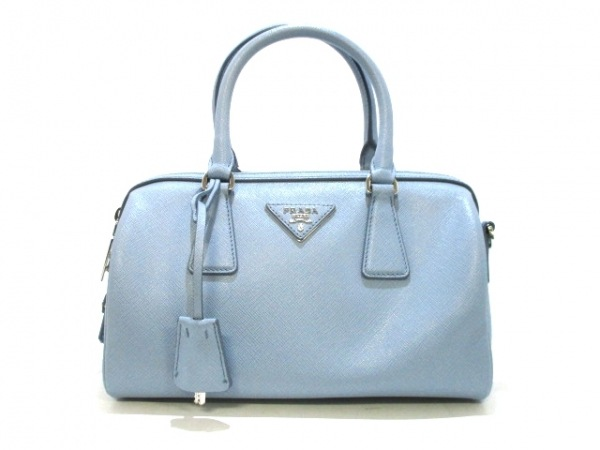 PRADA(プラダ) ハンドバッグ美品  - BL845Y ライトブルー 0