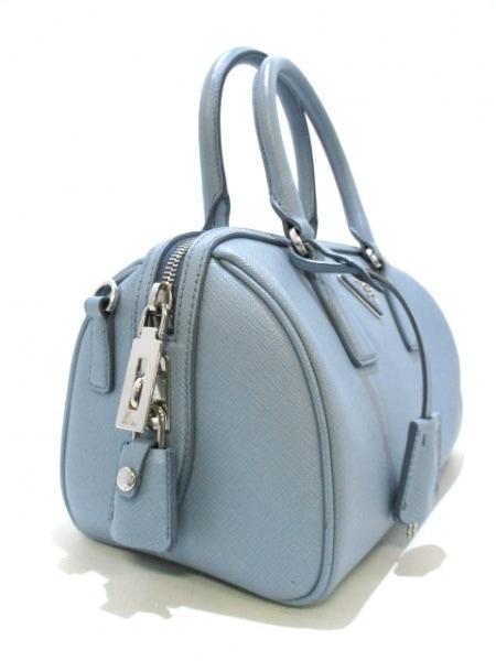 PRADA(プラダ) ハンドバッグ美品  - BL845Y ライトブルー 2