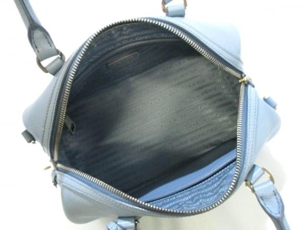 PRADA(プラダ) ハンドバッグ美品  - BL845Y ライトブルー 5