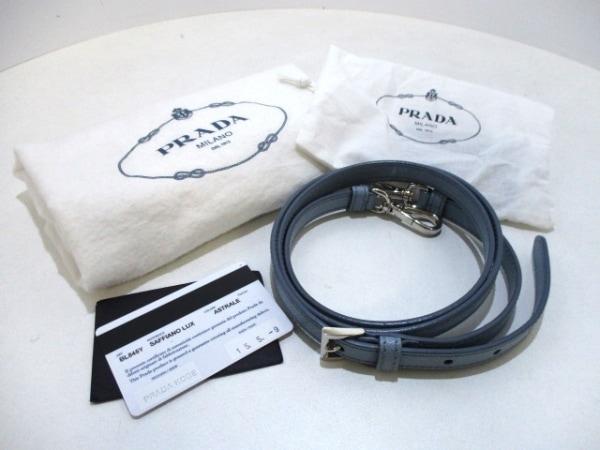 PRADA(プラダ) ハンドバッグ美品  - BL845Y ライトブルー 7