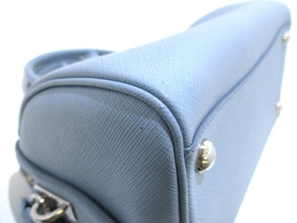 PRADA(プラダ) ハンドバッグ美品  - BL845Y ライトブルー 8
