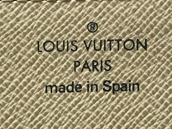 ルイヴィトン カードケース ダミエ美品  N61746 アズール 4