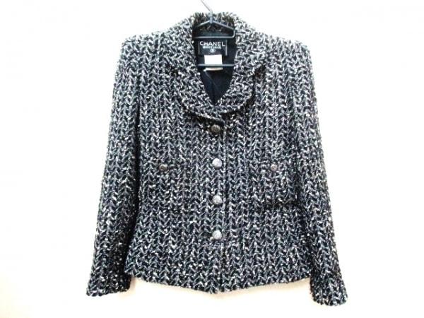 CHANEL(シャネル) ジャケット サイズ36 S レディース 黒×白 0