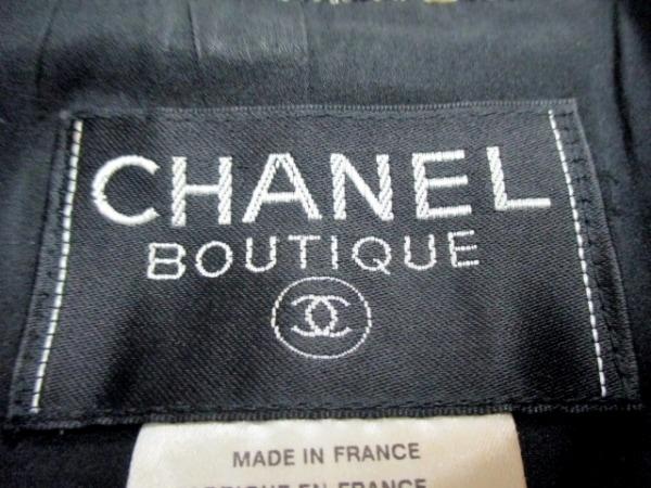 CHANEL(シャネル) ジャケット サイズ36 S レディース 黒×白 3