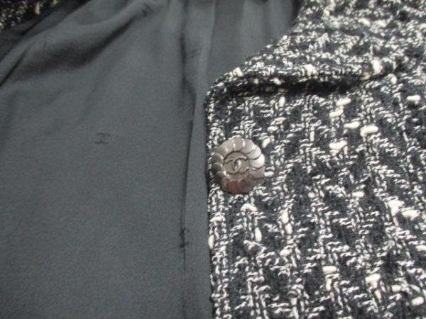 CHANEL(シャネル) ジャケット サイズ36 S レディース 黒×白 7