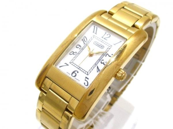 COACH(コーチ) 腕時計 CA.02.734.0342 レディース 白 0