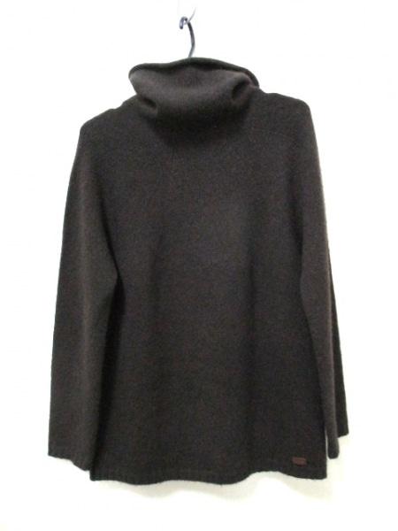 シャネル 長袖セーター サイズ38 M レディース ダークブラウン 2