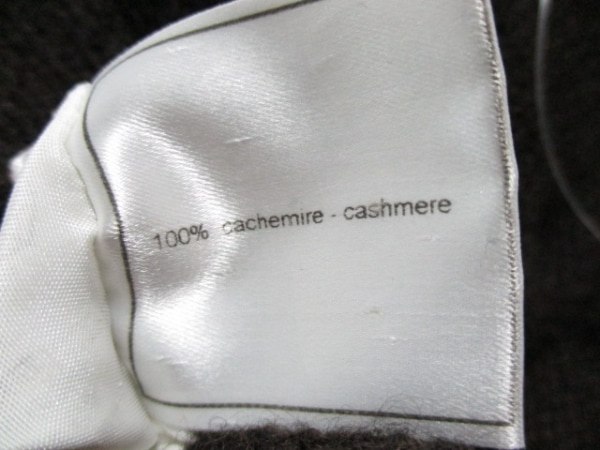 シャネル 長袖セーター サイズ38 M レディース ダークブラウン 4