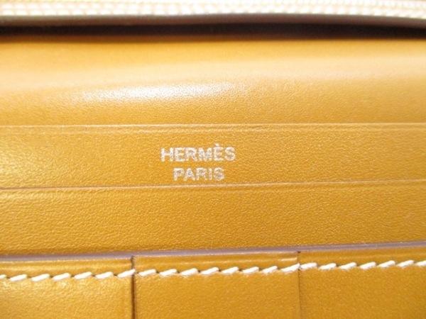 HERMES(エルメス) 長財布美品  ベアンスフレ ナチュラルサブレ 5