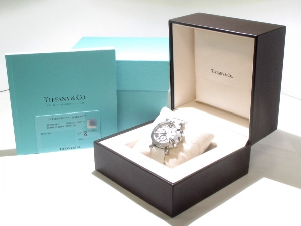ティファニー 腕時計美品  アトラス Z1301.32.11A20A71A レディース 8
