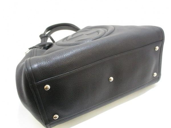 グッチ トートバッグ美品  ソーホーセラリウス 282309 黒 レザー 4