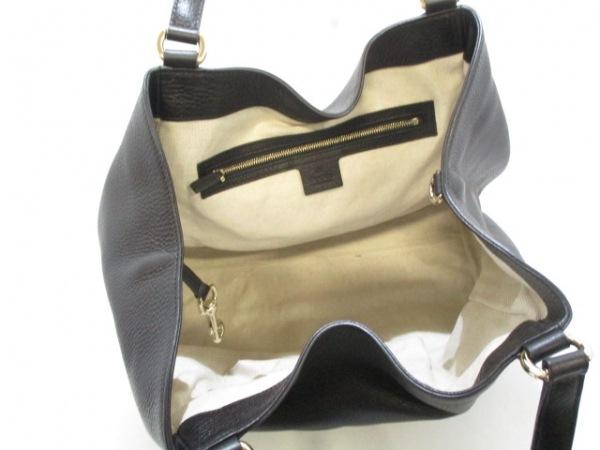 グッチ トートバッグ美品  ソーホーセラリウス 282309 黒 レザー 5