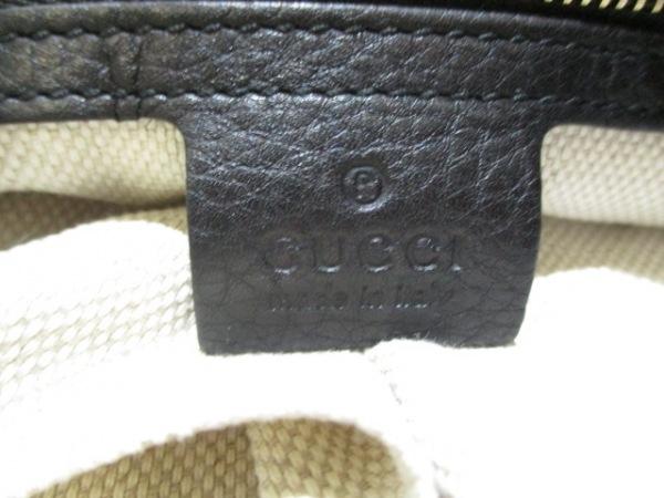 グッチ トートバッグ美品  ソーホーセラリウス 282309 黒 レザー 6