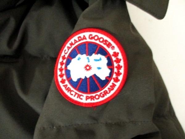 カナダグース ダウンジャケット サイズL/G L レディース美品  カーキ 8