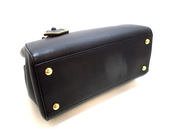 フェンディ ハンドバッグ美品  プチトゥージュール 8BH253 黒 レザー 4