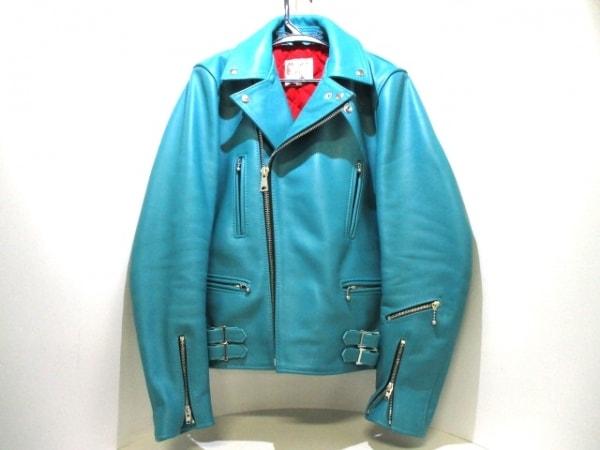 ルイスレザーズ ライダースジャケット サイズ38 M メンズ 391T 0