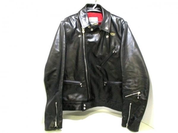 ルイスレザーズ ライダースジャケット サイズ40 M メンズ美品  441T 0