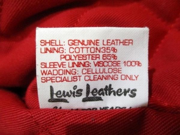 ルイスレザーズ ライダースジャケット サイズ40 M メンズ美品  441T 4