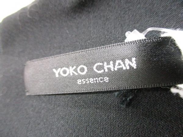 ヨーコ チャン ワンピース サイズ40 M レディース美品  黒 3