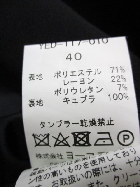 ヨーコ チャン ワンピース サイズ40 M レディース美品  黒 4