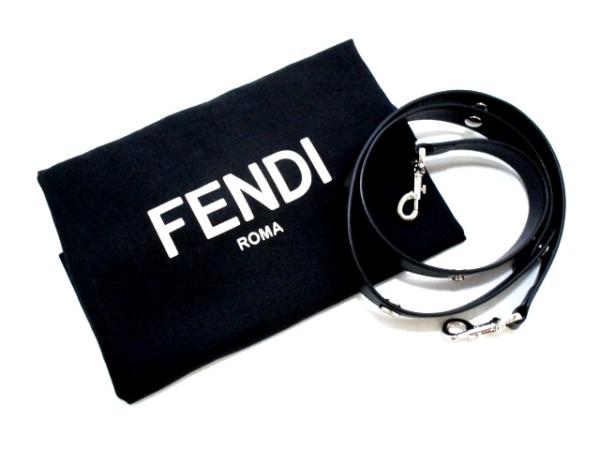 フェンディ ハンドバッグ美品  バイザウェイ 8BL124-1D5 黒 レザー 8
