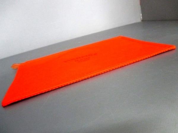 エルメス ポーチ美品  トゥルース フラットGM 102636M オレンジ 3