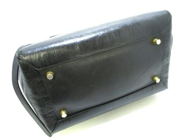 CELINE(セリーヌ) ハンドバッグ ベルトバッグ 黒 型押し加工 レザー 4