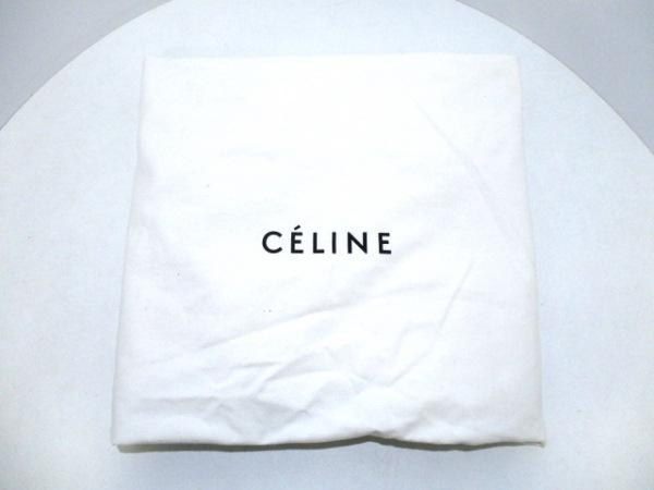 CELINE(セリーヌ) ハンドバッグ ベルトバッグ 黒 型押し加工 レザー 9