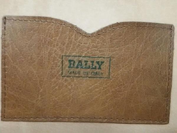 BALLY(バリー) トランクケース ブラウン レザー 6