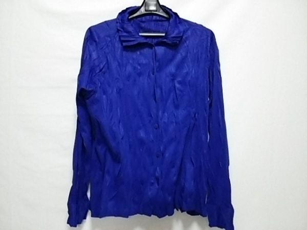 プリーツプリーズ アンサンブル サイズ3 L レディース美品  ブルー 0