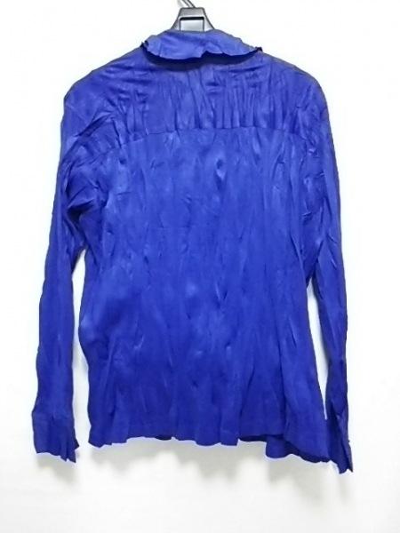 プリーツプリーズ アンサンブル サイズ3 L レディース美品  ブルー 2