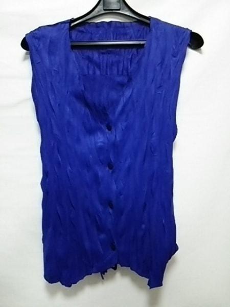 プリーツプリーズ アンサンブル サイズ3 L レディース美品  ブルー 3
