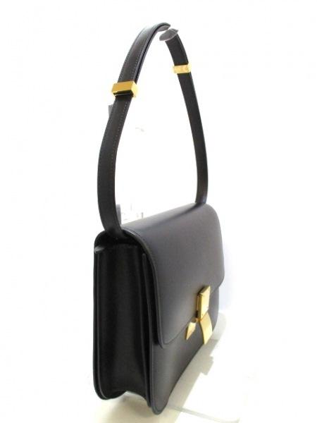 セリーヌ ショルダーバッグ美品  クラシックボックスミディアム 黒 2