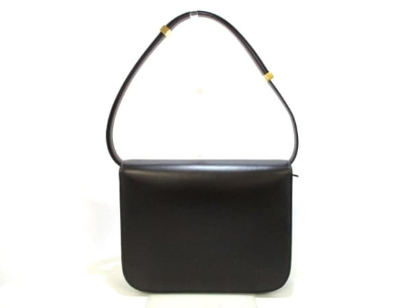 セリーヌ ショルダーバッグ美品  クラシックボックスミディアム 黒 3