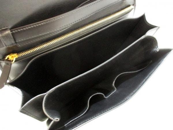 セリーヌ ショルダーバッグ美品  クラシックボックスミディアム 黒 5