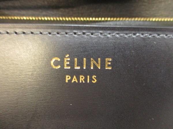 セリーヌ ショルダーバッグ美品  クラシックボックスミディアム 黒 6