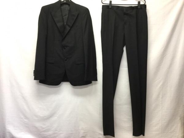 PRADA(プラダ) シングルスーツ サイズ48R メンズ美品  黒 0