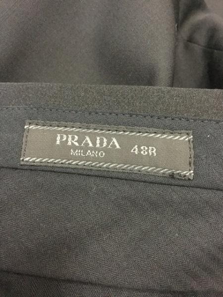 PRADA(プラダ) シングルスーツ サイズ48R メンズ美品  黒 3