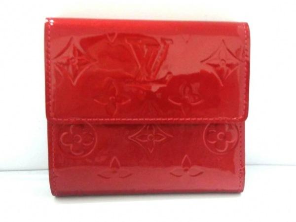 ルイヴィトン Wホック財布 モノグラムヴェルニ M91982 ポムダムール 2