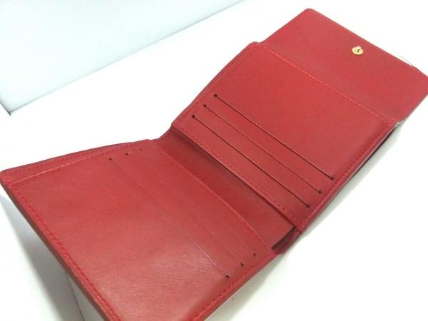 ルイヴィトン Wホック財布 モノグラムヴェルニ M91982 ポムダムール 3