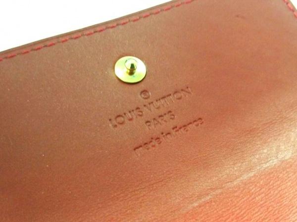 ルイヴィトン Wホック財布 モノグラムヴェルニ M91982 ポムダムール 5