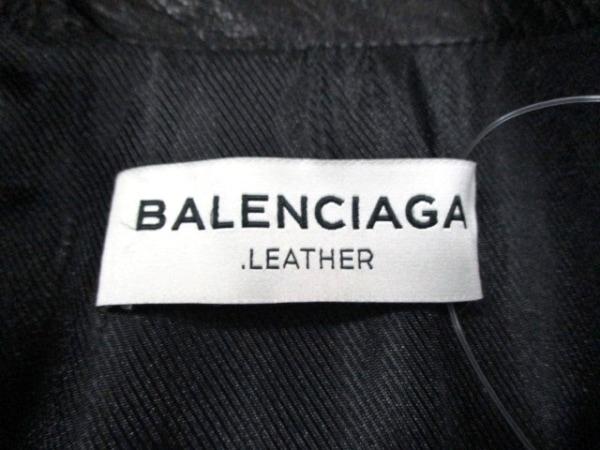 バレンシアガ ライダースジャケット サイズ38 M レディース美品  黒 3